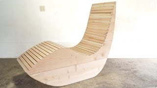 DIY Modern Outdoor Lounge Chair | Modern Builds | EP. 44