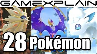 Super Smash Bros. Ultimate - 28 New & Returning Poké Ball Pokémon We