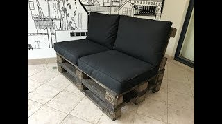 How to make a Pallet couch - Part 1