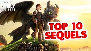 Top 10 Animated Movie Sequels from Shrek to Despicable Me