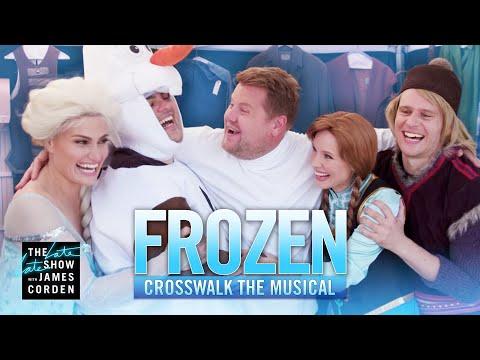 Crosswalk the Musical Frozen ft. Kristen Bell Idina Menzel Josh Gad & Jonathan Groff