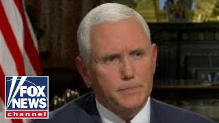 VP Mike Pence on US efforts to change Iran regime