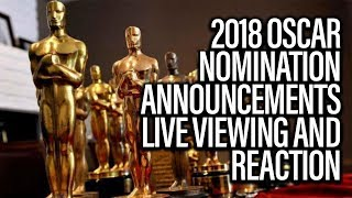 Oscar Nominations Announcement Live Viewing And Reaction - John Campea