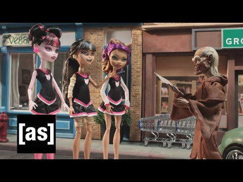 Monster High Vs. Cryptkeeper Robot Chicken Adult Swim
