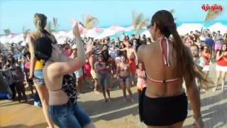 شاهد أول مسابقة لتحدي الرقص بين فتيات الساحل الشمالي .. صيف ساخن جدا