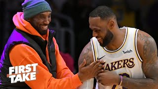 Stephen A. reacts to LeBron saying he will continue Kobe Bryant's legacy | First Take