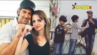 Hrithik Roshan's Ex-Wife Sussanne Khan Moves Closer To The Superstar   SPotboyE