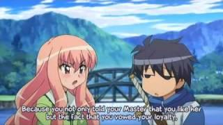 Saito and Louise Boat Scene