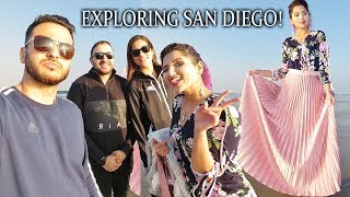 Travelling with the Cousins SAN DIEGO HALAL VLOG