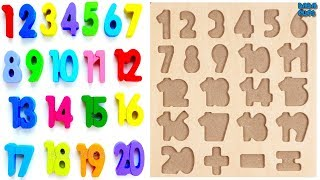 Learn 1To20 Numbers For Kids|Counting Numbers|Numbers 1 to20|Learn Colors Play Doh Compilation