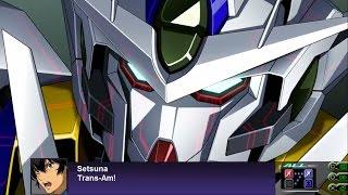 Super Robot Wars Z3: Tengoku Hen - Gundam 00 Qan(T) All Attacks (English Subs)