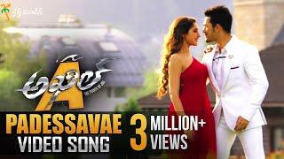 Padessavae Full Video Song || Akhil Movie Video Songs || Akhil Akkineni, Sayyeshaa