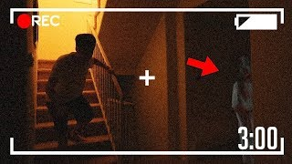 EXPLORING A HAUNTED HOUSE AT 3:00 AM?! (GHOST)