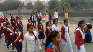 Baby public school gejha sec 93 republic day parad