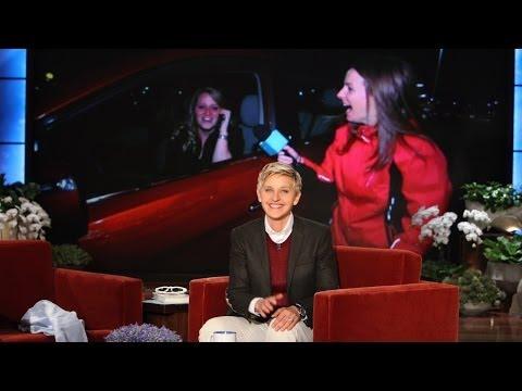 Ellen s Favorite Waitress Gets a Car