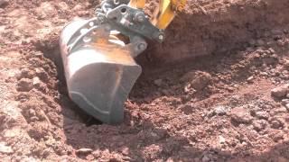 Case cx80c excavation machine digger construction