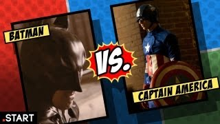 Ultimate Fan Fights - Batman vs. Captain America In Real Life - Ultimate Fan Fights Episode 1