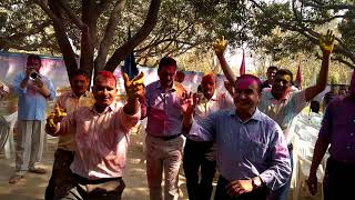 Ips Shree Kp Singh .... Holi Milan ... 4th Bn Pac Allahabad