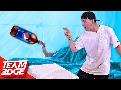 SODA Bottle Flip Challenge