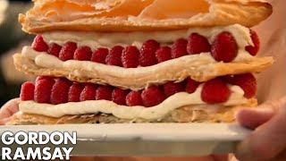 Raspberry Millefeuille - Gordon Ramsay