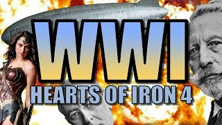 HOI4: WORLD WAR ONE!   Heart of Iron 4: The Great War Mod Gameplay [WW1 AI Only Alternative History]