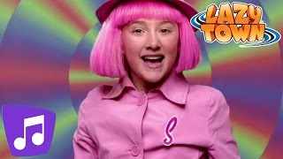 Lazy Town |  Man On A Mission Music Video