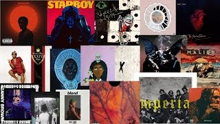 TOP 10 ALBUMS OF 2016!