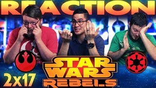 Star Wars Rebels 2x17 REACTION!!