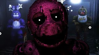 PLAY AS THE PURPLE GUY..DO NOT LET THE ANIMATRONICS GET INSIDE! || Five Nights at Freddys Remastered