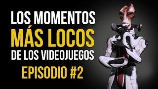 Los MOMENTOS MÁS LOCOS de los VIDEOJUEGOS #2