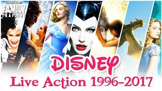 EVERY DISNEY LIVE-ACTION MOVIE - Which one is your favorite?