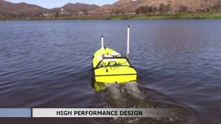 CEE HydroSystems Remote Controlled Survey Boat USV Single Beam Echo Sounder & GPS