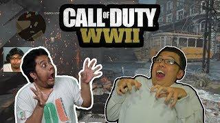 SENTOLOPH TEAM BERAKSI DI COD! - Call Of Duty World War 2 Bareng Bang Tara!