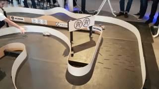 NorBot robots - Cyborg Prototype Testrun