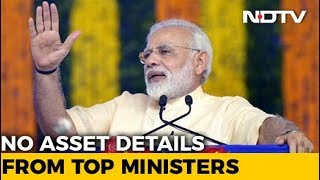 Apart From PM Narendra Modi, Only 15 Ministers Have Disclosed Assets