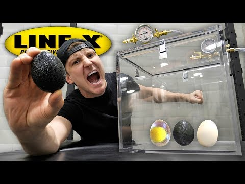 What Happens When You Put a LINE X EGG in a Vacuum Chamber LINE X EGG EXPERIMENT