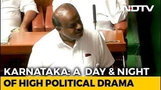 1:30 Deadline For Karnataka Coalition; BJP's Protest Sleepover
