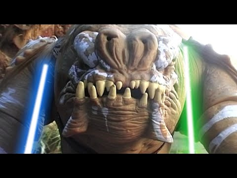 STAR WARS Rancor conflict Stop Motion