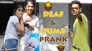 DUMB and DEAF Prank by Super Desi People ( Pranks in India)