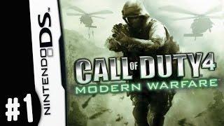 REMASTER THIS... Nintendo DS Call of Duty 4 Modern Warfare Gameplay Walkthrough