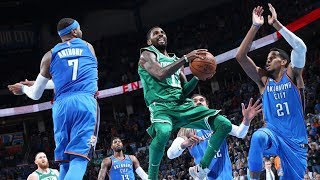 Thunder Blew 18 Pt Lead! Celtics 7 Game Win Streak! 2017-18 Season
