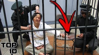 Top 10 Scary Prison Punishments
