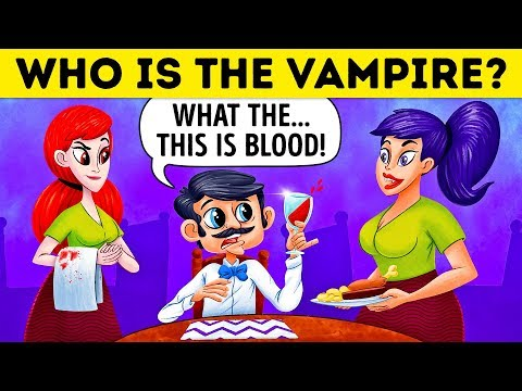 Xxx Mp4 Who Is The Vampire 17 Riddles For Vampire Experts Only 3gp Sex