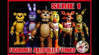 FIVE NIGHTS AT FREDDY'S FIGURINES ARTICULEES FUNKO SERIES 1