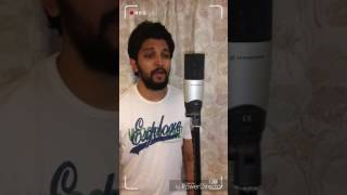 Ondu malebillu cover by puneeth #CHAKRAVARTHY #DBOSS