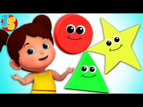 The Shape Song | Nursery Rhymes For Kids | Baby Songs By Junior Squad