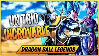 LE TRIO VEGETA BLUE / BEERUS / WHIS💪 - Dragon Ball Legends FR