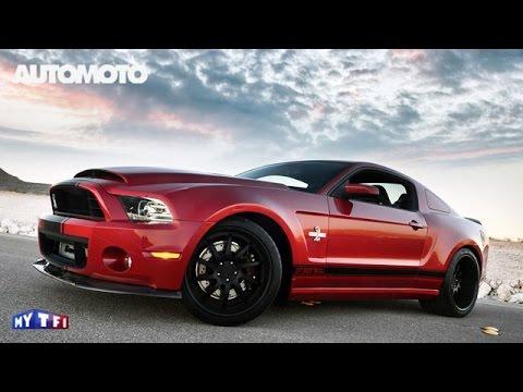 La Shelby Super Snake une Mustang à plus de 800 chevaux