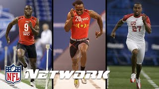 Who Ran the Fastest 40? (Julio Jones, Antonio Brown or DeSean Jackson) | Good Morning Football