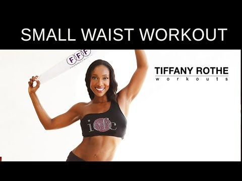 10 Minute Booty Shaking Towel Workout LOSE INCHES OFF YOUR WAIST  TiffanyRotheWorkouts